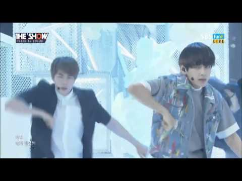 [Fanchant Too Loud] BTS - I Need U [comeback stage] @The Show 20150505
