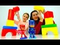 Герои в Масках Супер #ЧЕЛЛЕНДЖ Без Большого Пальца! Игры #длядетей Вызов брошен! Видео с игрушками