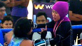 JANGAN LIHAT TAMPILAN LUARNYA, SANGAR BOS TARUNGNYA (MMA FIGHTING INDONESIA)