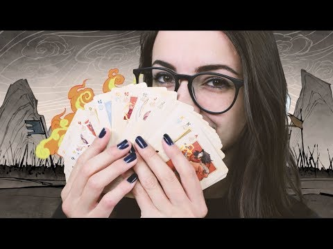[ASMR] Deck of Art Cards | Avatar Style