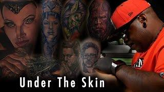 Tattoo of Maleficent -Under the Skin | Poch