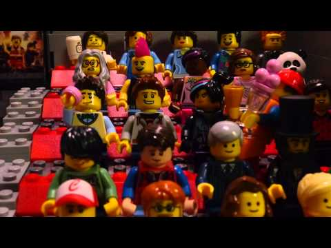 Emmet Goes to The LEGO Movie Premiere! Episode 3 :: The LEGO Movie Comes to Regal Movies