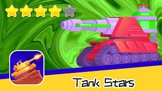 Tank Stars - Playgendary Limited - Day81 Walkthrough Toxic Level UP! Recommend index four stars