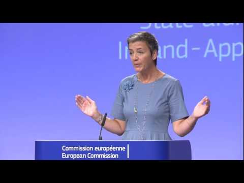 Apple's $14.5 Billion unpaid EU taxes: Press conference and Q&A by Margrethe Vestager