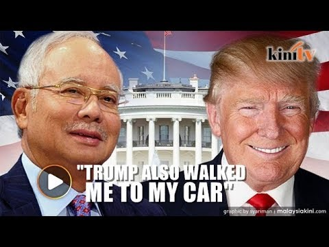 Najib: Despite not staying at Blair House, I was invited to play golf with Trump