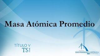 Masa Atómica Promedio