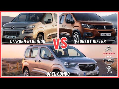 Citroen Berlingo - Peugeot Rifter - Opel Combo Karşılaştırma (Hangisi daha iyi ?)