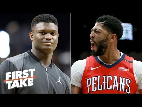 Why the Knicks trading a 1st-round pick for Anthony Davis is tricky | First Take Mp3