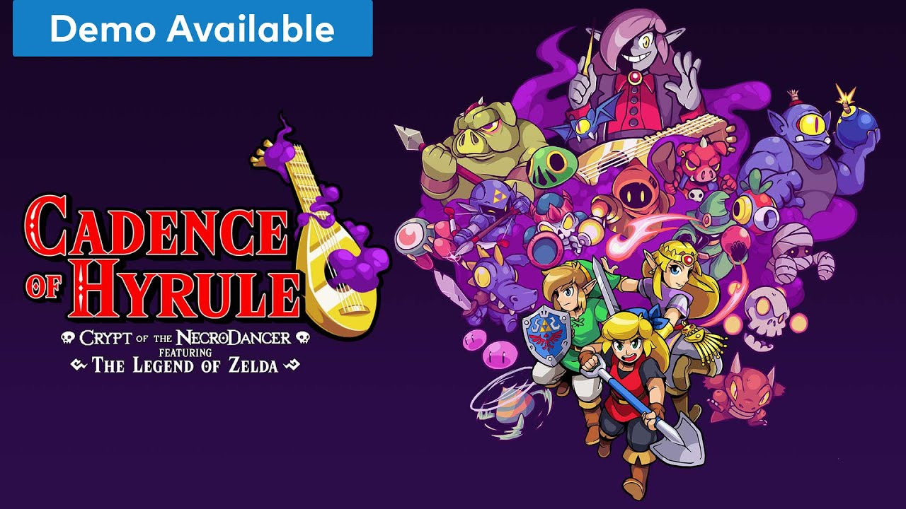 Cadence Of Hyrule All Characters Mode With Impa Nintendo Switch Pick Up Play S7 E4 Youtube