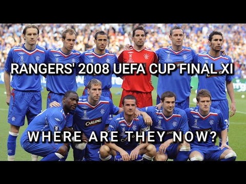 Rangers' 2008 UEFA Cup Finalists - Where Are They Now?