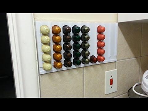 vlog completing the diy nespresso holder 2013 12 27. Black Bedroom Furniture Sets. Home Design Ideas