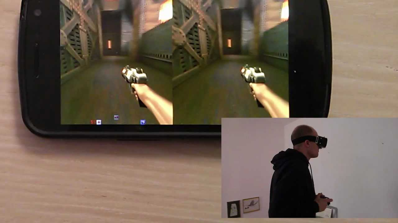 3D Virtual Reality Gaming on a Smartphone