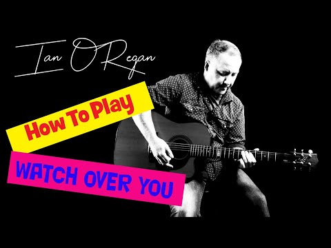 How to play Watch Over You by Myles Kennedy on Guitar