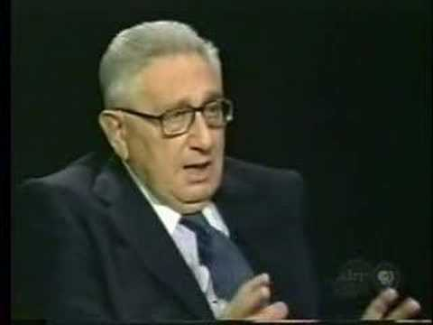 "Kissinger admits to a ""New International Order"""