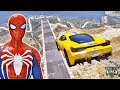 SUPER CARROS no Desafio na Ultra Mega Rampa - GTA V Mods - IR GAMES