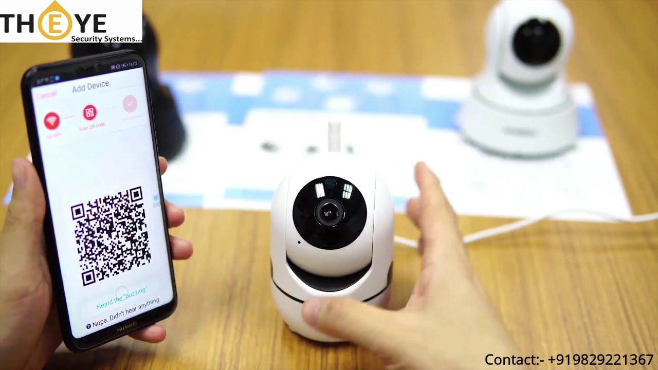 How to CONNECT THEYE YCC365 WIFI CAMERA