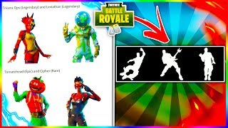 "NEW Fortnite SKINS + ITEMS LEAKED! ""TOMATOHEAD"" + ""LEVIATHAN"" + ""TRICERA OPS"" LEAKED In v3.5 PATCH!"