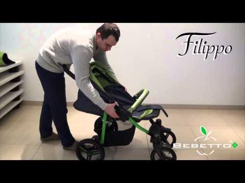 Прогулочная коляска Bebetto Filippo