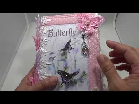 Sold Butterfly Secrets Junk Journal DT Project For Seneca Pond Crafts