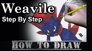 How To Draw Weavile Step By Step