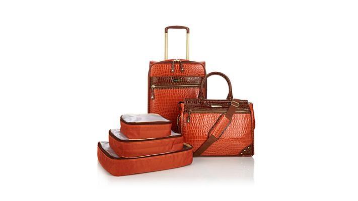 Samantha Brown Luggage Qvc: Samantha Brown 5piece Classic Luggage Set