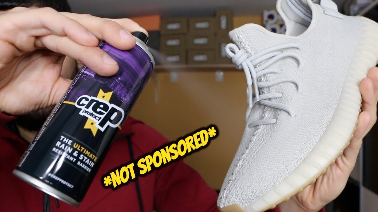 HOW TO APPLY CREP PROTECT SPRAY THE