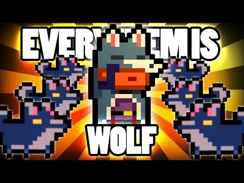 Every Item is WOLF (TRY #2) - Custom Gungeon Challenge