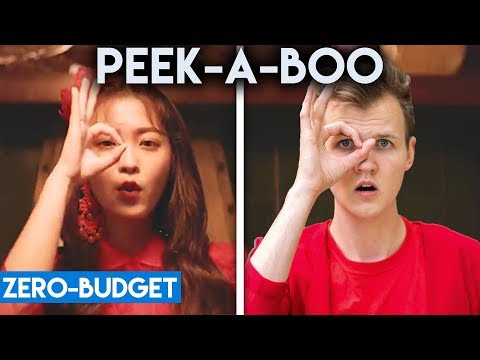 K-POP WITH ZERO BUDGET! (Red Velvet- Peek-A-Boo)