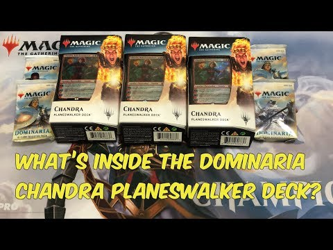 what's-inside-the-dominaria-chandra-planeswalker-deck?-mtg-magic-the-gathering