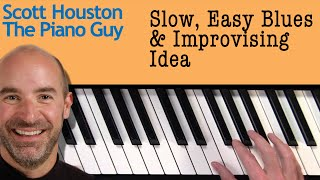 Improvisation - Jazz Piano Lessons - Sounds Good at Slow Tempo