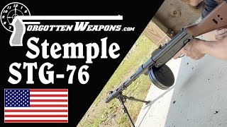 "Stemple/BRP STG-76 ""Heavy Submachine Gun"" at the Range"