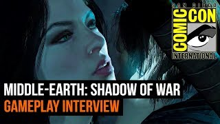 Troy Baker, Laura Bailey, Pollyanna Mcintosh and Michael de Plater on Shadow of War