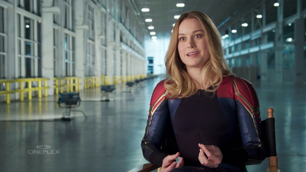 brie larson takes us behind the scenes of captain marvel