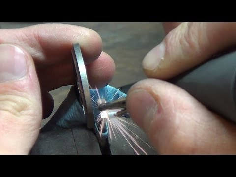 Knifemaking Tuesdays Week 86 - Carbidizing titanium knife locks