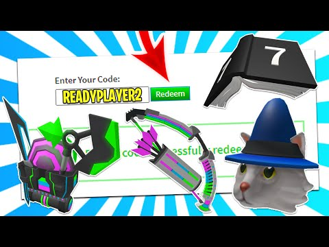 ALL *10* NEW Roblox Promo Codes November 2020! NEW RB Battles & Ready Player 2 Codes! (Roblox 2020)