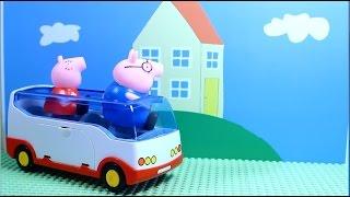 Свинка Пеппа Peppa Pig. Пеппа и  Джордж готовят сюрприз для мамы свинки. Мультик для детей.