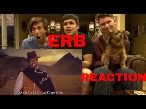 ERB REACTION CLINT EASTWOOD VS BRUCE LEE
