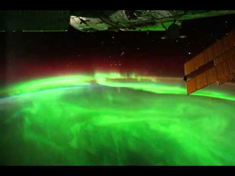 Aurora From Space!!! - YouTube