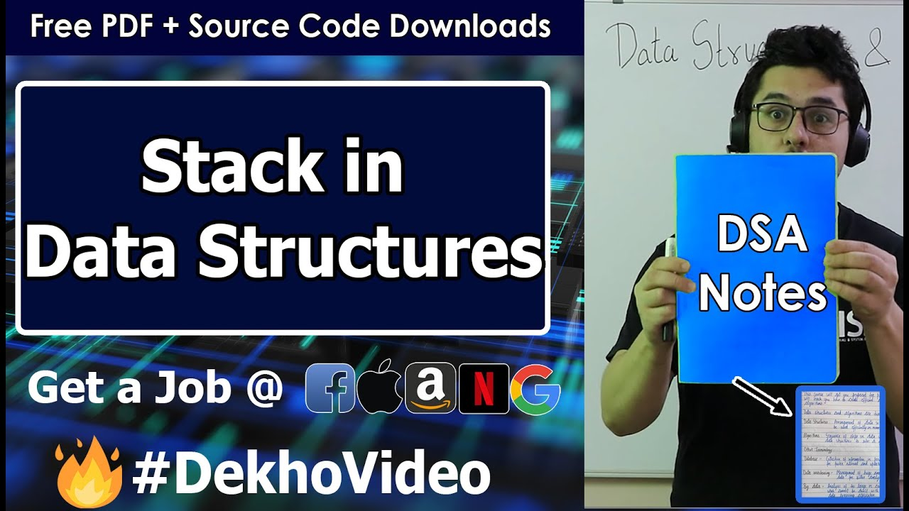 Introduction to Stack in Data Structures
