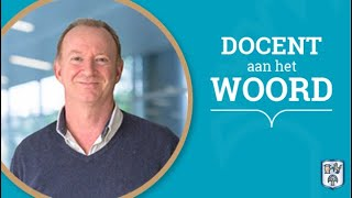 Business School Notenboom - docent Robert aan het woord