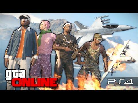 GTA 5 Online (PS4) - Бросок кобры! #105