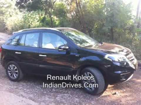 Renault Koleos SUV First Look & Walkaround Video Review