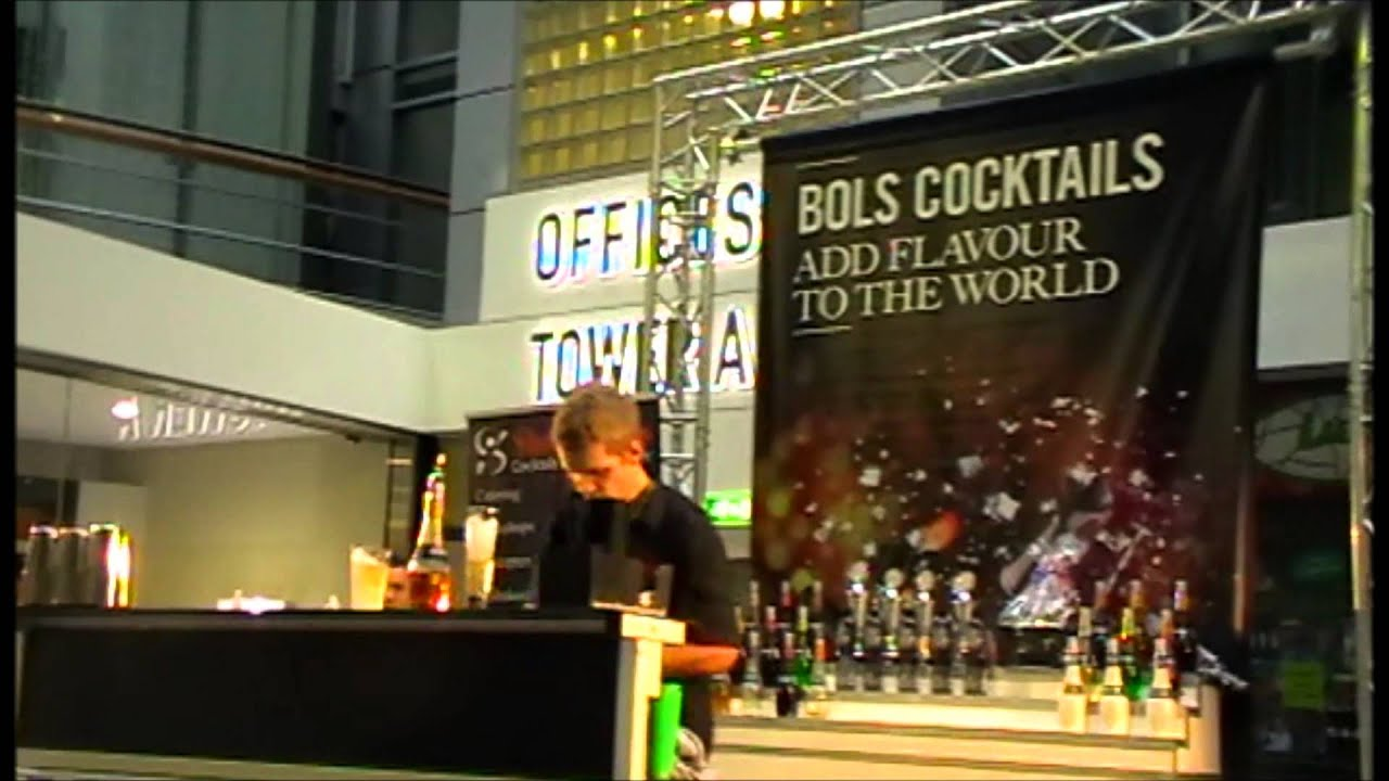 Flair Bartending Competition Rotterdam Hd Youtube