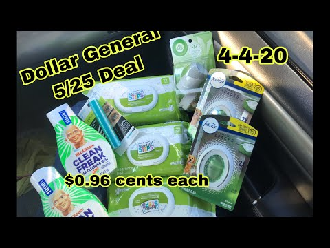 Dollar General 5/25 Deal | $8.65 🎉 $0.96 Cents Each Item