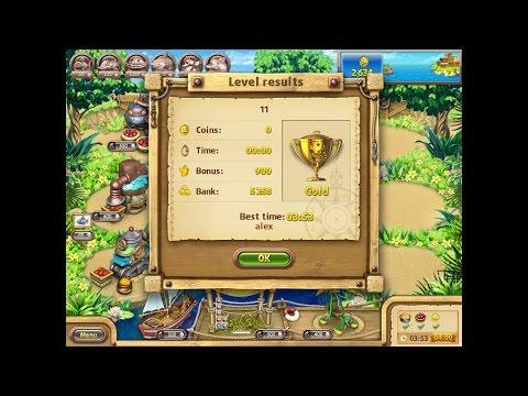 Farm Frenzy Gone Fishing Only GOLD (level 11) Веселая ферма Рыбный день (Уровень 11) Золото