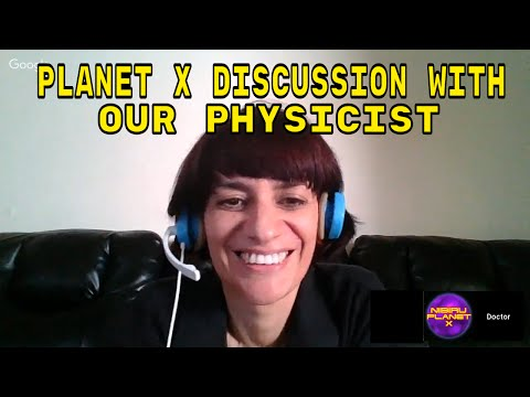 PLANET X DISCUSSION WITH OUR PHYSICIST JULY 2, 2017