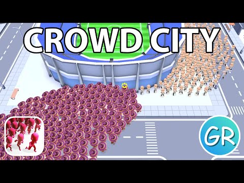 Crowd City Gameplay | Playing 1 Round With Each Skin (Part 2)