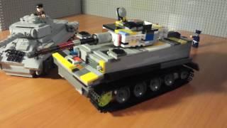 відео лего як зробити танк тигр 1