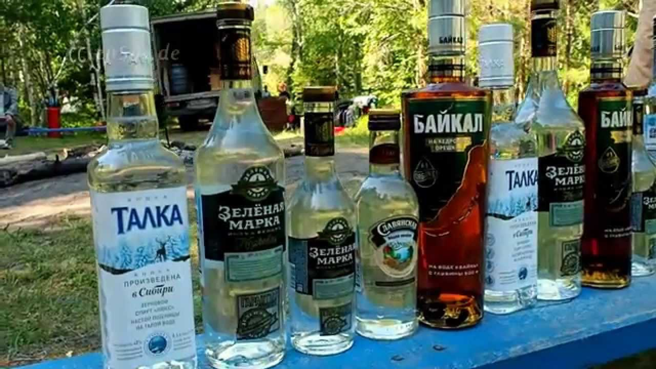 Strong alcoholic beverages - myths and reality