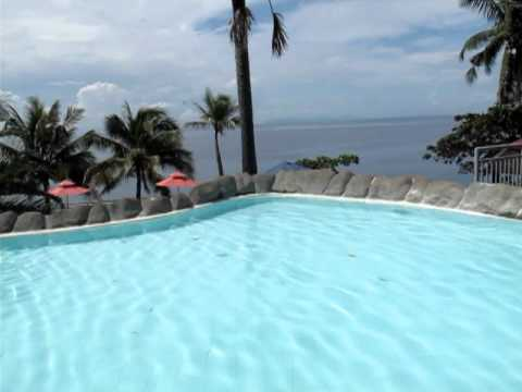 Eagle point resort in batangas beach resort top swimming pool youtube for Beach with swimming pool in batangas